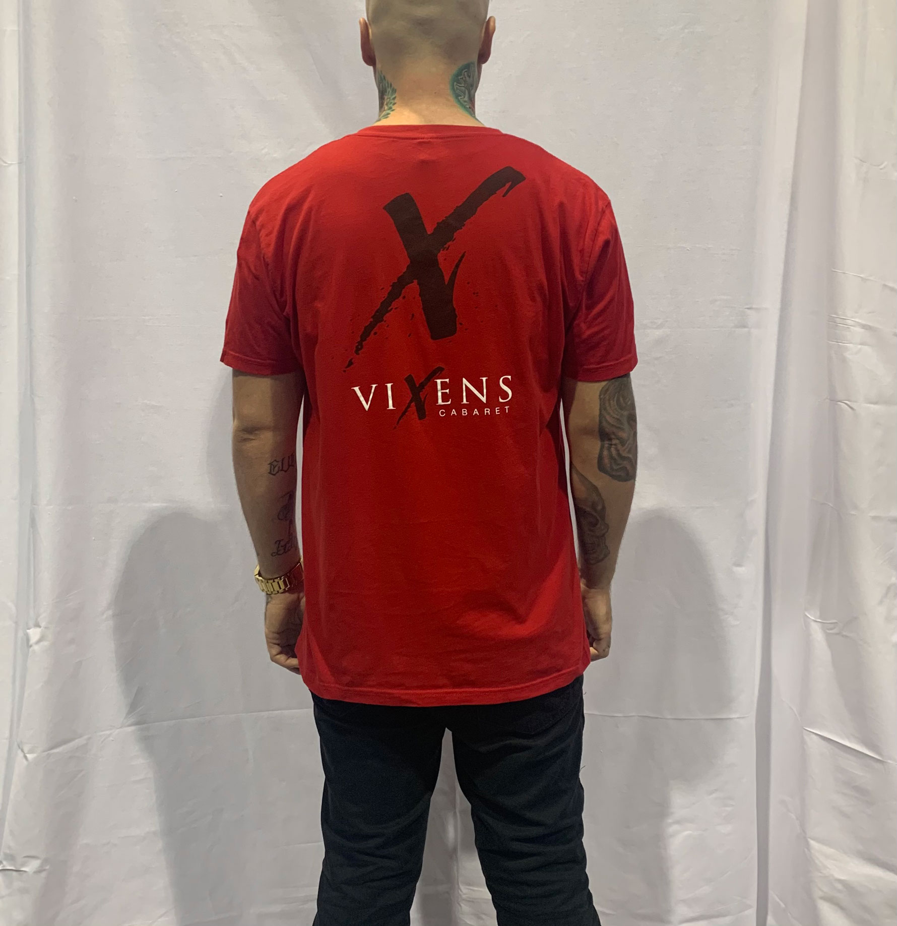 Men T-Shirt (Red)