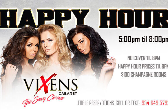 Happy Hour 5-8PM