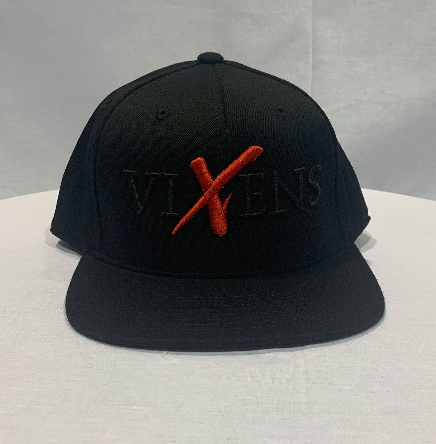 Hat (Black Red X)