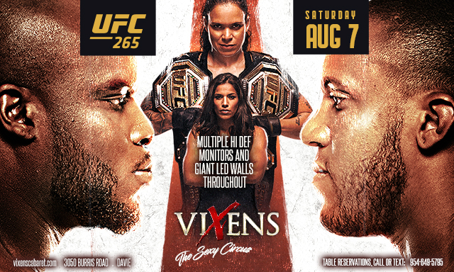 UFC 265 Watch Party