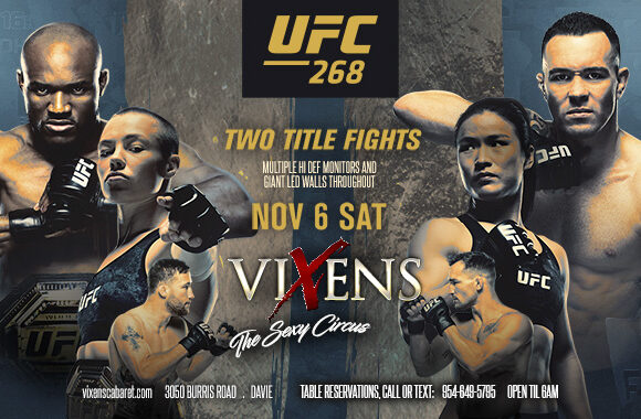 UFC 268 Watch Party